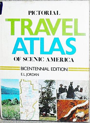 9780843736601: Pictorial travel atlas of scenic America,
