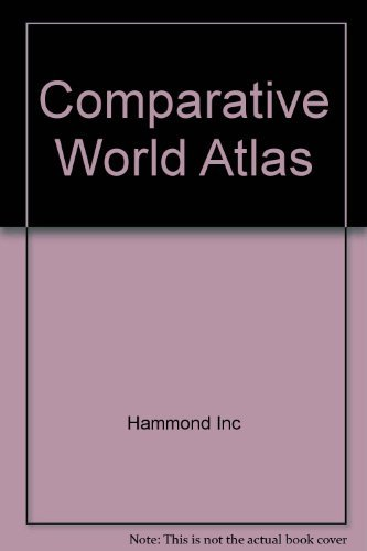 9780843771114: Comparative World Atlas