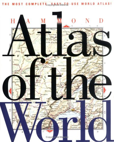9780843796001: Hammond Atlas of the World