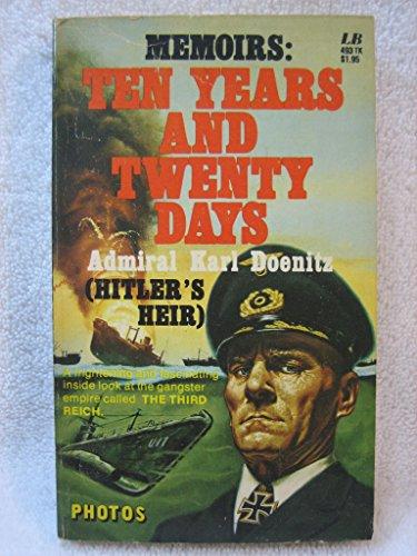 9780843904932: Memoirs Ten Years and Twenty Days