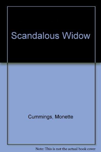Scandalous Widow (0843911026) by Monette Cummings