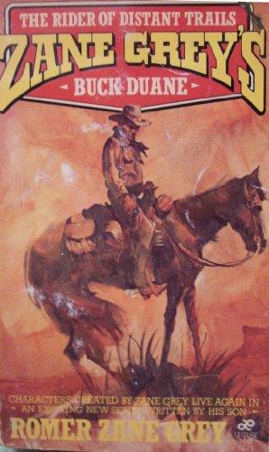 9780843920826: Zane Grey's Buck Duane