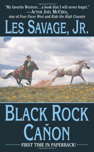 9780843959918: Black Rock Canon (Leisure Western)