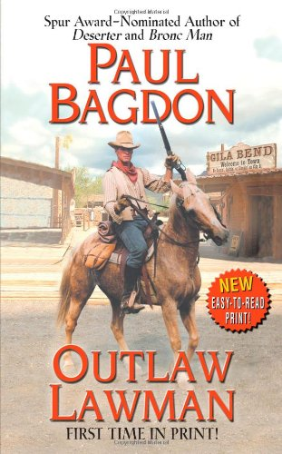 9780843960150: Outlaw Lawman (Leisure Historical Fiction)