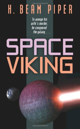 Space Viking cover illustration by Ericus, Wildside 2007