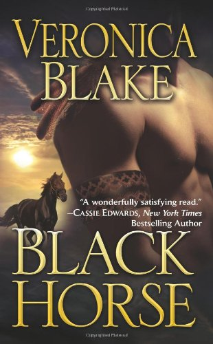 9780843961676: Black Horse (Leisure Historical Romance)