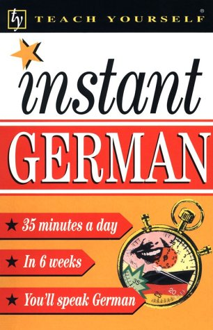 9780844202013: Instant German (Teach Yourself) (English and German Edition)