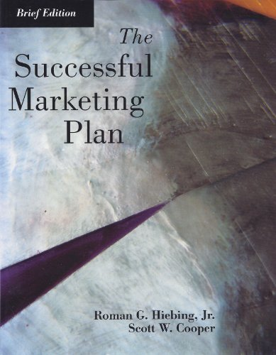 9780844202488: The Successful Marketing Plan
