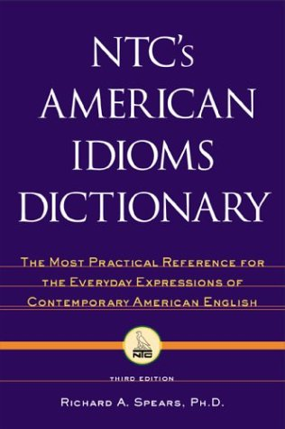 9780844202730: NTC's American Idioms Dictionary