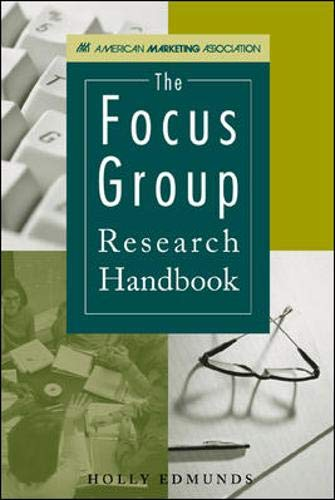 9780844202884: The Focus Group Research Handbook (American Marketing Association)