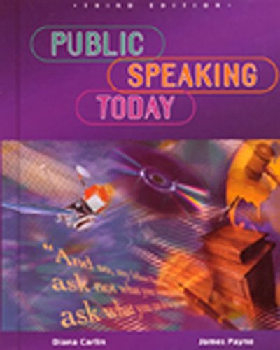 9780844203690: Public Speaking Today, Student Edition (NTC: SPEECH COMM MATTERS)