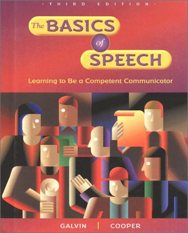 9780844203829: The Basics of Speech
