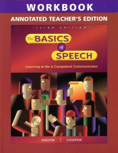 The Basics of Speech Annotated Teacher's Edition (The Basics of Speech Annotated Teacher'...