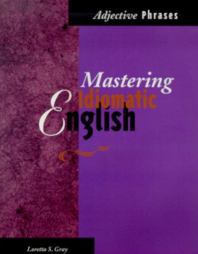 9780844204703: Mastering Idiomatic English