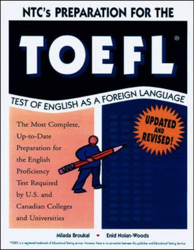 NTC's Preparation for the TOEFL Test of English as a Foreign Language: Broukal, Milada and ...