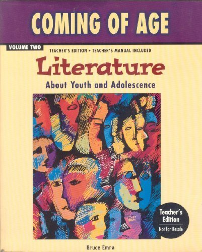 9780844204901: Coming of Age: Literature About Youth and Adolescence (Volume 2)