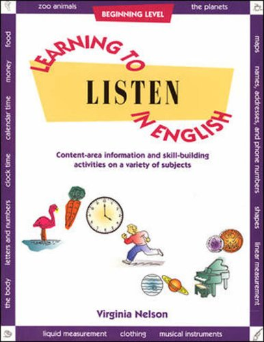 Learning to Listen: English: Book 2: V. Nelson
