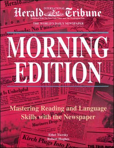 9780844205649: Morning Edition: Mastering Reading and Language Skills With the Newspaper