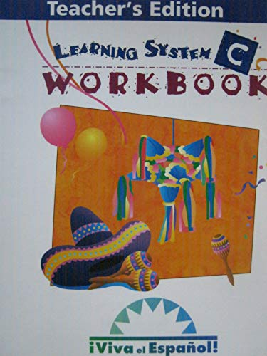 9780844206295: Viva el Espanol: Workbook Teacher's Edition C (Spanish Edition)