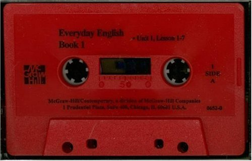 9780844206523: Everyday English 2nd Edition Book 1 Tape 1