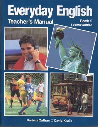 9780844206561: Everyday English, Book 2 (Teacher's Manual)