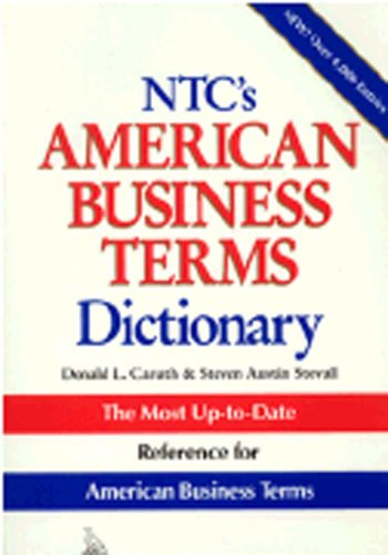 9780844207308: Ntc's American Business Terms Dictionary