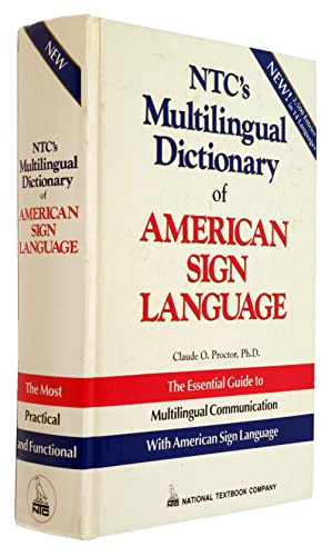 9780844207315: Ntc's Multilingual Dictionary of American Sign Language