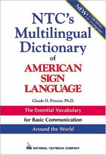 9780844207322: Ntc's Multilingual Dictionary of American Sign Language