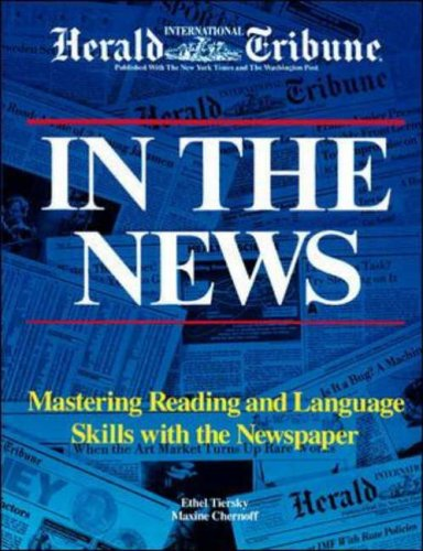 9780844207902: In the News: Mastering Reading and Language Skills With the Newspaper