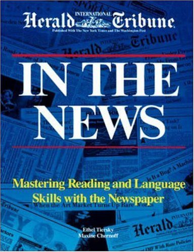 9780844207919: In the News: Mastering Reading and Language Skills with the Newspaper