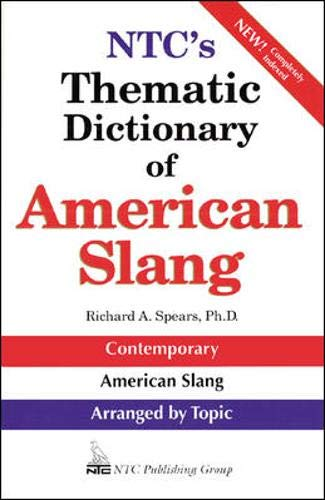 9780844208329: NTC's Thematic Dictionary of American Slang