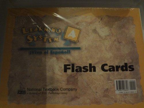 9780844208626: Viva El Espanol Vocabulary Flashcards System C (Spanish Edition)