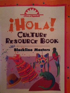 9780844209487: Viva El Espanol: Hola!, Culture Resource Book