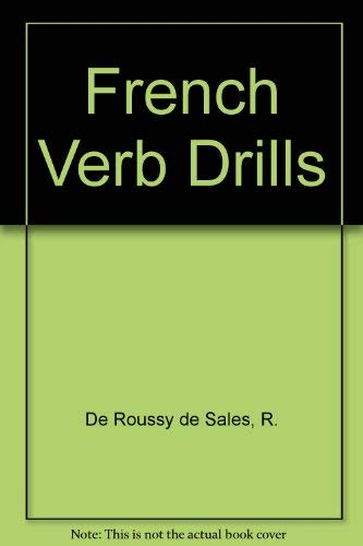 9780844210322: French Verb Drills