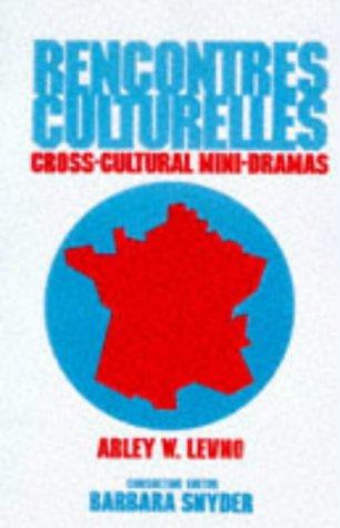 9780844212470: Rencontres Culturelles/Cross-Cultural Mini-Dramas