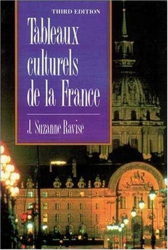 9780844212739: Tableaux culturels de la France (3rd Edition)
