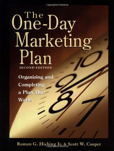 9780844212838: The One-Day Marketing Plan