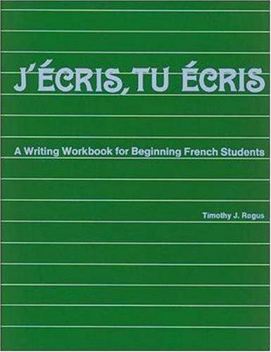 9780844213132: J'Ecris, Tu Ecris