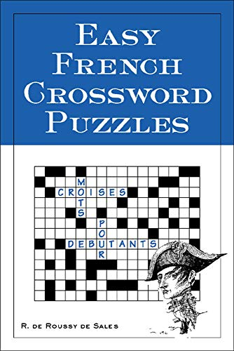 9780844213309: Easy French Crossword Puzzles (Language - French) (English and French Edition)