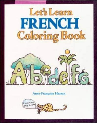 9780844213897: Coloring Books: LETS LEARN FRENCH COLORING BOOK