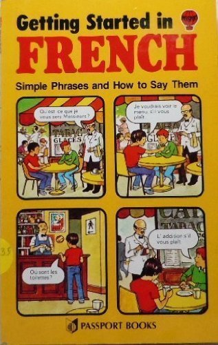 9780844214085: Getting Started in French: Simple Phrases and How to Say Them