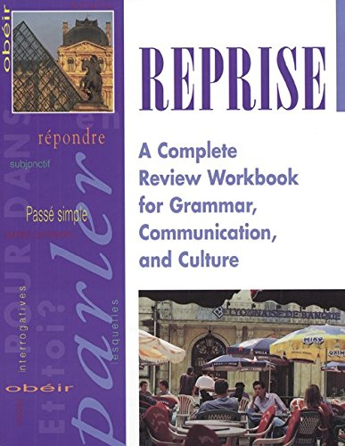 9780844214634: Reprise: A Complete Review Workbook for Grammar, Communication and Culture