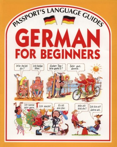 9780844214771: German for Beginners (Passport's Languages for Beginners Series) (English and German Edition)