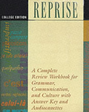 9780844214993: Reprise: College Edition: A Complete Review Workbook for Grammar, Communication and Culture
