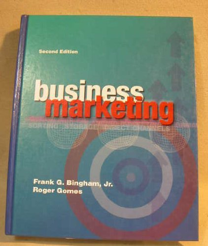 9780844215389: Business Marketing Management