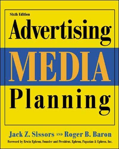 9780844215631: Advertising Media Planning, Sixth Edition