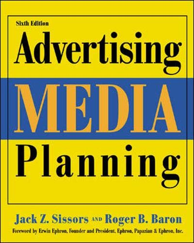 9780844215631: Advertising Media Planning, Sixth Edition