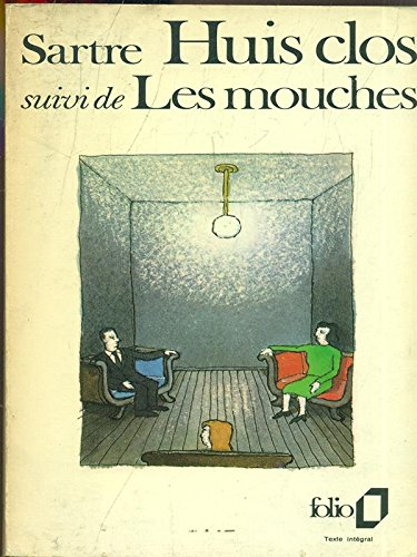9780844218144: Huis Clos Les Mouches (French Edition)