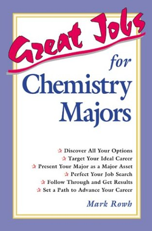 9780844219158: Great Jobs for Chemistry Majors
