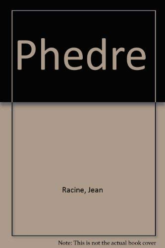 9780844219943: Phedre (French Edition)